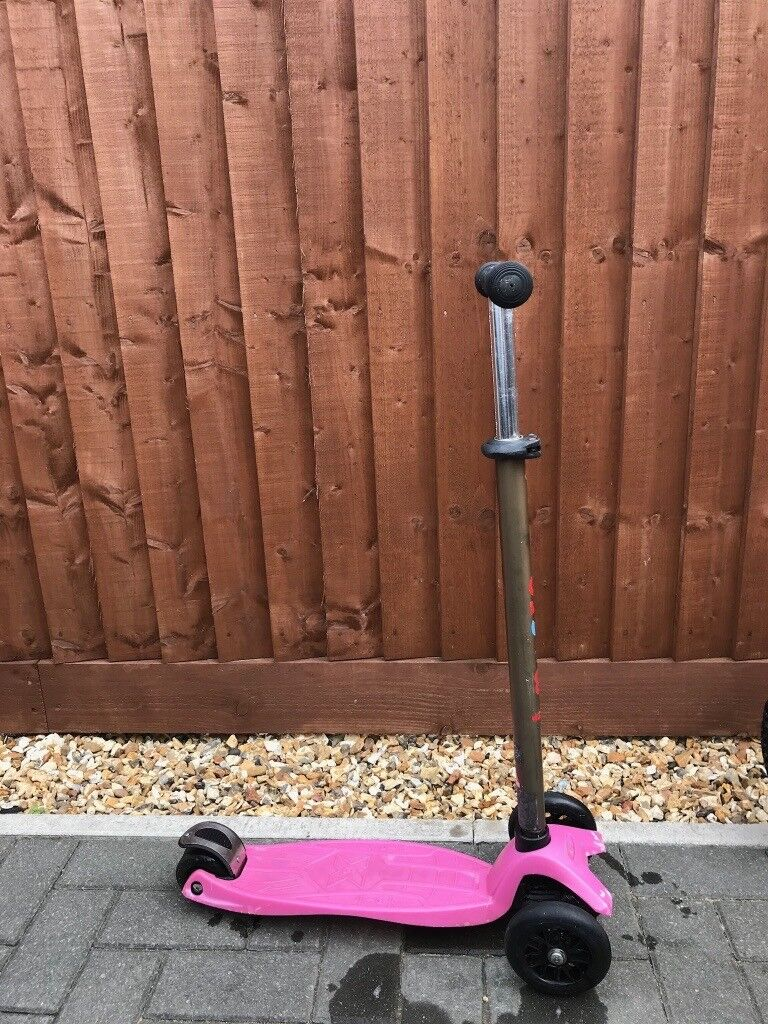 Kids Pink Micro Maxi Scooter