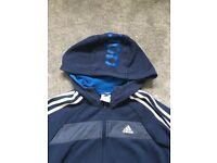 Kids adidas hooded top age 9/10