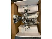 Burlington Stafford bath deck mounted shower mixer