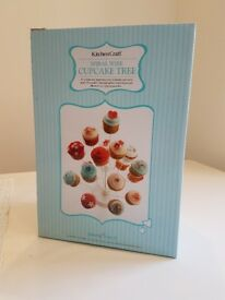 Spiral Wire Cupcake Tree Stand