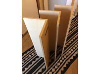 MDF Shelfs x 3