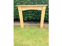 Fire surround very good condition !Width 122 ,length 108