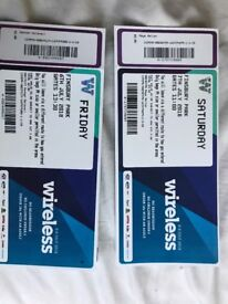 Wireless selling Cost price Fri Ticket one only