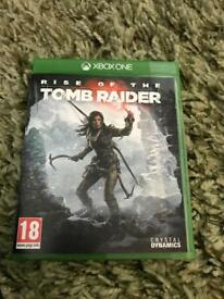Tomb Raider Xbox One game