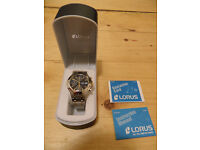 Lorus mens watch, brand new boxed
