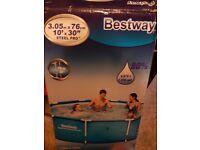 Bestaway steel framed pool