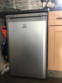 Silver under counter freezer