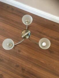 3 bulb flush ceiling light