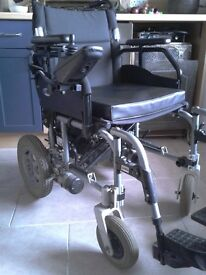 Mobility Disability folding Electric Wheelchair, heavy duty, Joystick control, 5 speed settings