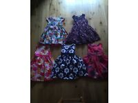 Girls party dress age 3/4 and just 4 as new