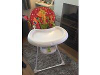 Mothercare safari high chair