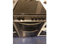 bush black and silver 50cm ceramic cooker perfect working order good clean condition