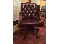 Leather Captains Chair (two of them)