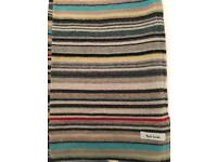 Paul Smith stripe scarf