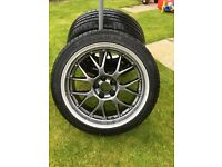 BBS Rs style alloy wheels to fit Audi