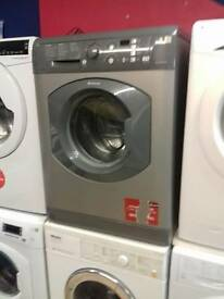 9kg hotpoint silver washing machine