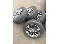 Immaculate BMW alloys Michelin tyres NO TEXTs 205/55/16 alloy wheels