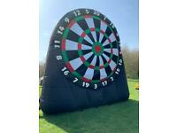 5.5m Inflatable Dartboard - kick darts / football darts