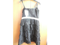 New Red Herring Black Lace Dress