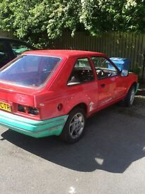 Escort rs turbo project H reg 1.3 all welding has been done!