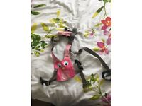 Littlelife baby harness pink owl