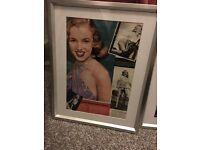 Marilyn Monroe framed art x4