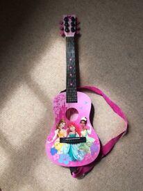 Girls Disney Princess real guitar