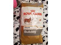 Royal Canin Adult Bulldog Food Brand new sacks.
