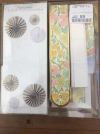 2 x Liberty Print pin wheel packs
