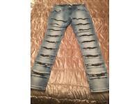Designer jeans size 14 new