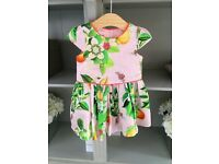 Ted Baker dress size 9-12 months