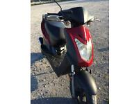 Kymco agility 50 un-finished project