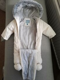 John Lewis snow/pram suit up to 3 months