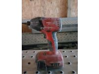 Hilti SID 22-A impact driver used for tacking