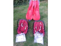 Maxi Cosi Red Pebble (two available)