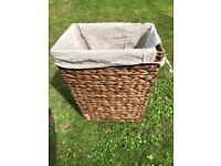 Wicker Storage Box - it's yours for a fiver!