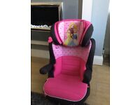 Disney princess car booster seat age approx 4-12 years