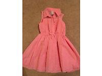 Jasper Conran Junior - Peach Dress (2-3 Years)