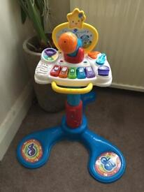 Vtech sit to stand music centre VGC