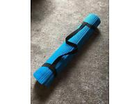 Yoga mat balance mat blue