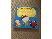 Pirate Pete new big brother ladybird book