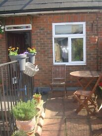 Sunny, bright and beautiful duplex flat with garden terrace. Freshly painted.