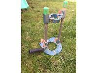 Drill stand attachment