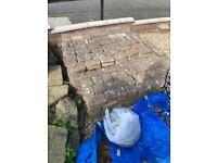 Free patio bricks (used) in decent condition