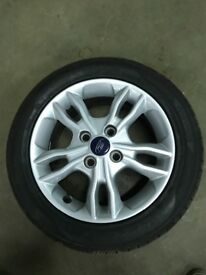 "Ford Fiesta zetec 15"" Alloy Wheel and good tyre"