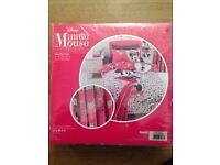 Minnie Mouse curtains 66 x 54
