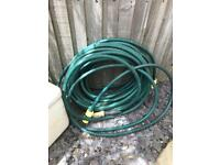Hose pipe and spray fitting