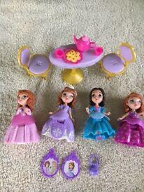Disney Sofia the First figures