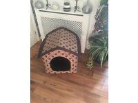 Soft indoor / outdoor kennel for sale