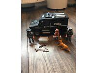 Playmobil police swat car
